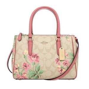 Coach Lilly Floral Surrey Satc…